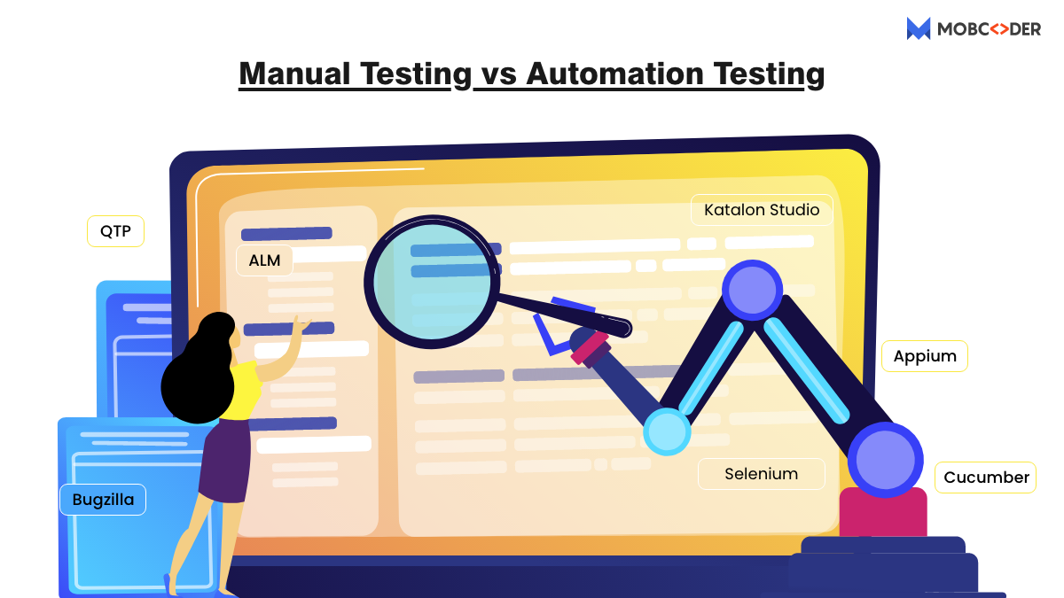 Manual Testing vs Automated Testing: Differences you must know