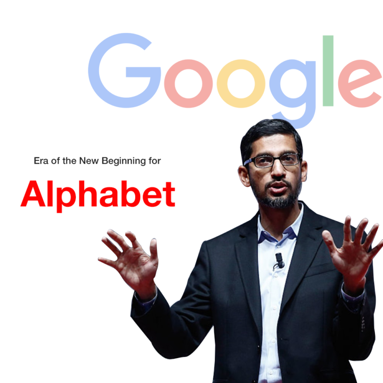 Google CEO Sundar Pichai is taking over as CEO of Alphabet