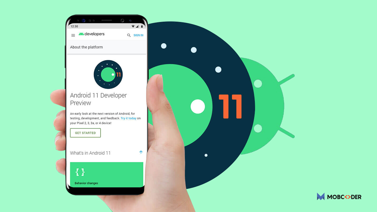 All new Android 11 features with developers preview