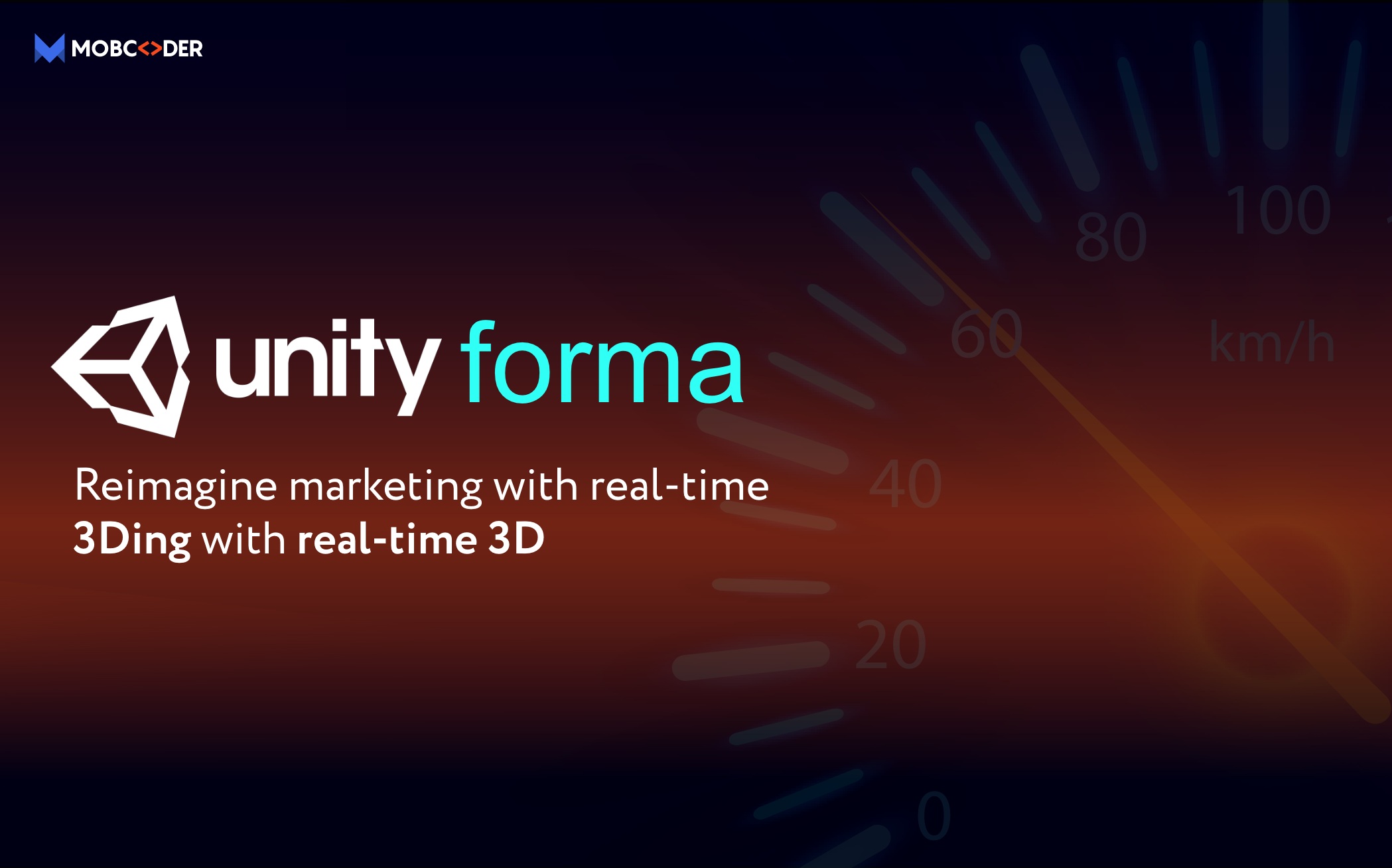 Unity Forma- Reimagine marketing with real-time 3D