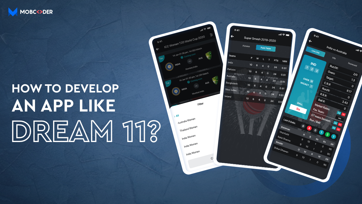How to develop app like Dream11?
