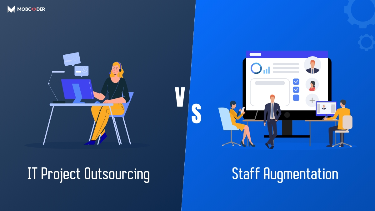 differences between staff augmentation and project outsourcing