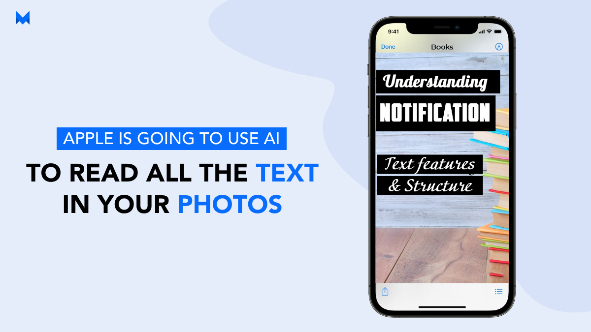 apple is going to use ai to read all the text in your photos