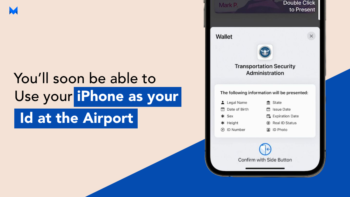 After WWDC 2021 announcements, use your iPhone as your personal ID at the Airport