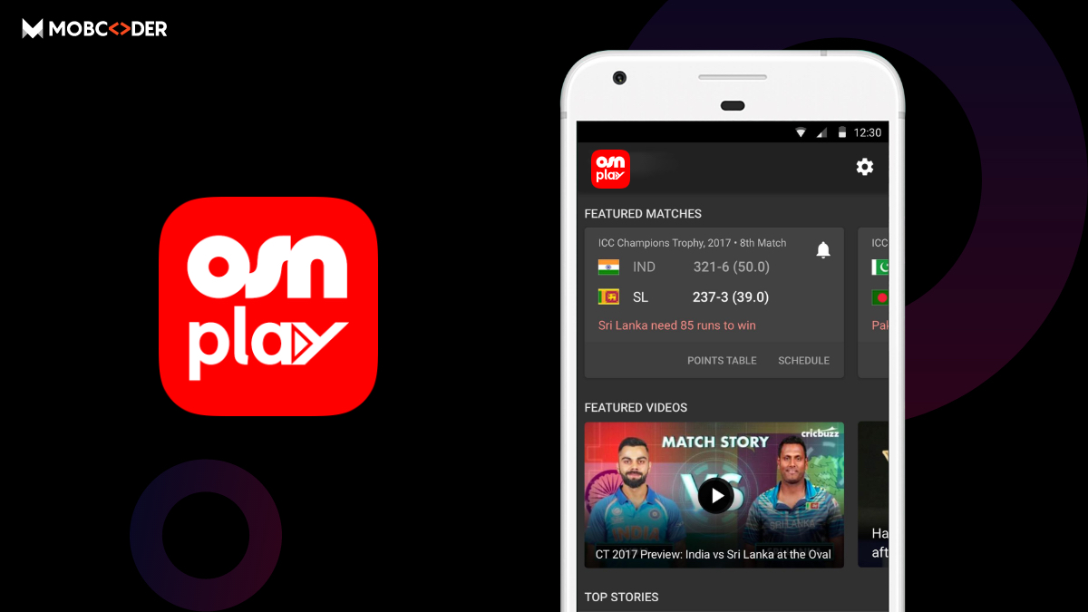 OSN Play: Live Cricket streaming apps